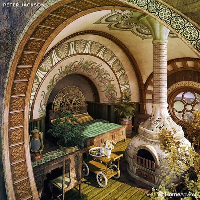 decoration chambre coucher film cinema decor 2 - 7 Décorations de Chambres à Coucher Inspirées de Films Cultes