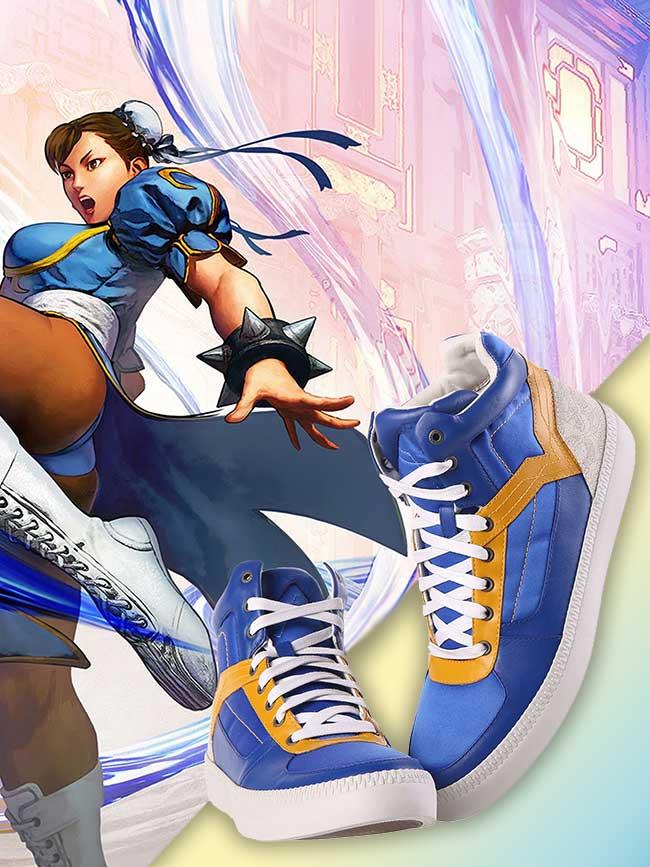 Baskets Street Fighter Diesel Capcom, Des Baskets 'Street Fighter' chez Diesel… ça va Bastonner !