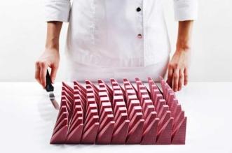 Dinara Kasko Algorithmic Patisserie Chocolat Rose Rubis