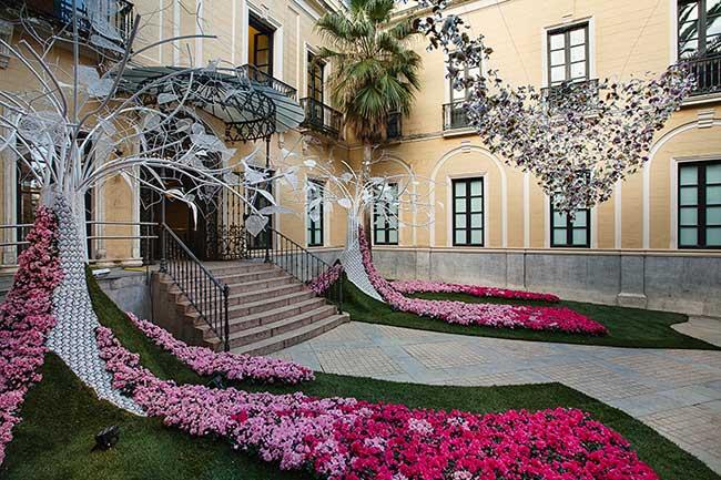 cordoue festival art flora fleurs patios