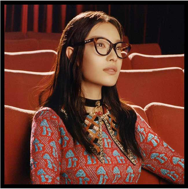 gucci lunettes soleil homme femme hiver 2017, Les Lunettes de Soleil Gucci se Portent Même dans les Salles de Cinéma