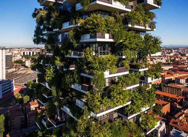 premiere foret verticale paris stefano boeri architetti, Un Hectare de Végétation pour la Première Forêt Verticale à Paris