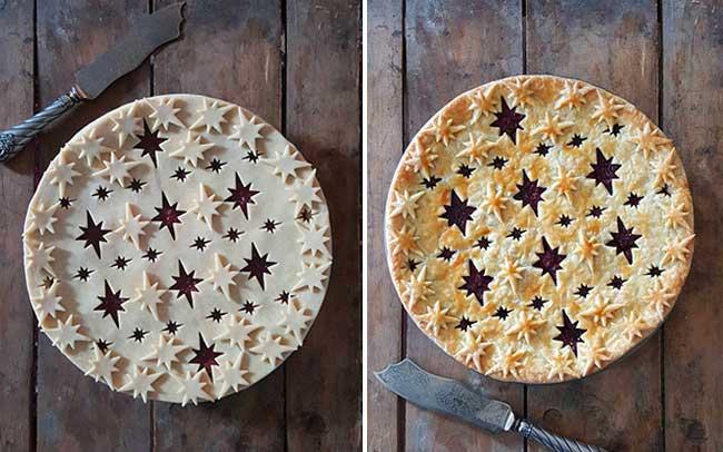 tourtes decoration avant après karin pfeiff boschek, Elle Partage ses Photos Avant et Après de Tourtes aux Motifs Décoratifs