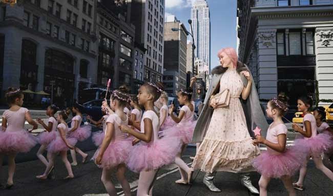 Kate Spade campagne noel fin annee 2017