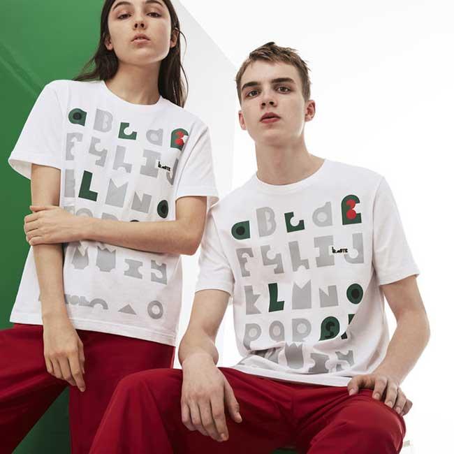 Lacoste et M/M Femme Homme, Lacoste et M/M vont vous faire Réviser l'Alphabet