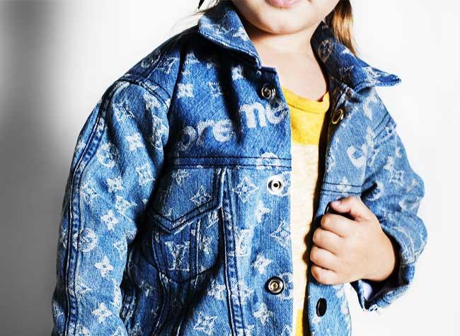 Louis Vuitton x Supreme Kids Enfants, Louis Vuitton x Supreme, une Ligne pour les Enfants