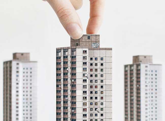 Modern East Livre Maquette Architecture