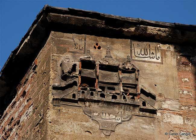 nichoirs architecture ottomane Turquie, En Turquie ces Nichoirs sont des Chefs d'Oeuvre d'Architecture
