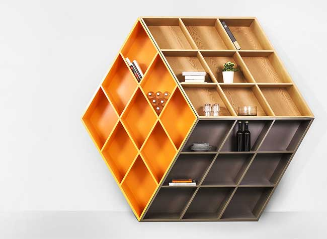 George Bosnas Bibliotheque Rubiks Cube Rubika Bookcase