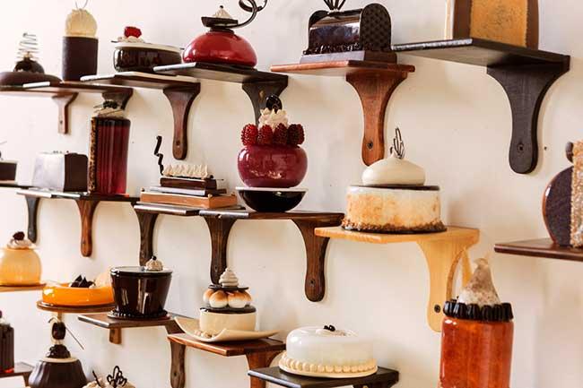 patisseries sculptures verre shayna leib, Ces Superbes Pâtisseries sont des Sculptures en Verre et Porcelaine