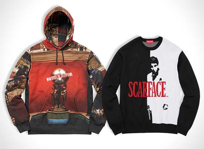 Supreme Scarface, Avec Supreme Adoptez le Look Tony Montana de Scarface