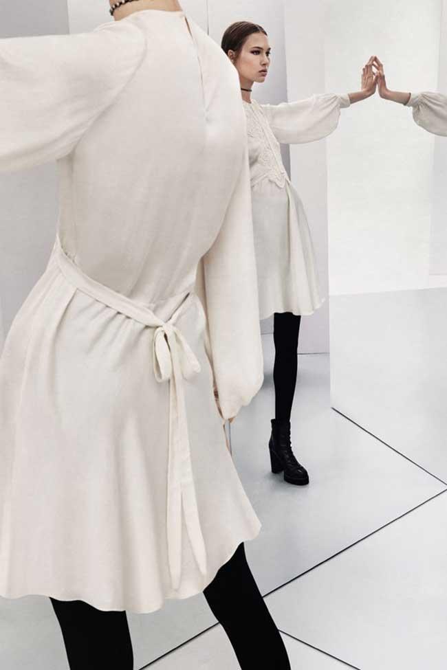 zara studio hiver 2017 femmes, Le Chic s'Affiche en Noir et Blanc pour Zara Femmes Studio