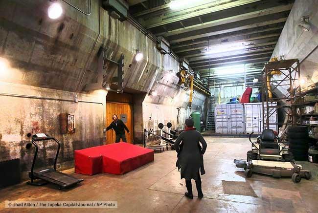 base missiles nucléaires airbnb location luxe, Ce Couple Transforme une Base de Missiles Nucléaires en Luxueux Loft