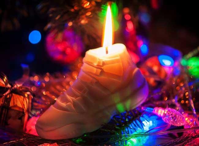 baskets nike bougies candle whattheshape 9 - Les Iconiques Modèles de Baskets Nike en Bougies