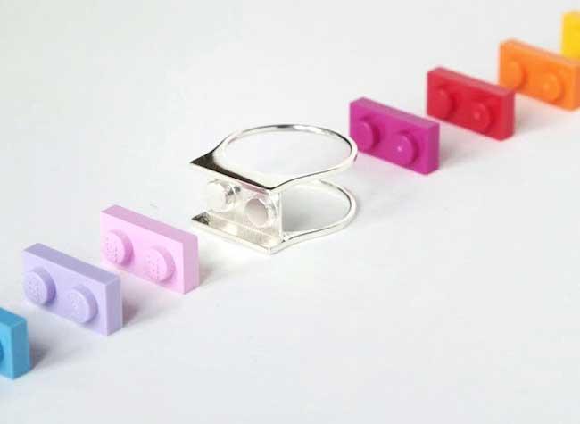 bijoux lego impression 3d hint lab, Ces Bijoux Lego Imprimés en 3D sont Ludiques et Modulables