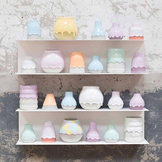 ceramiques creative art brian giniewski, Ce Céramiste Réalise des Pots et des Vases Dégoulinant de Créativité