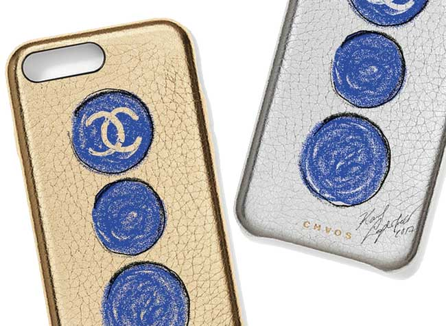 chanel colette chaos iphone protection