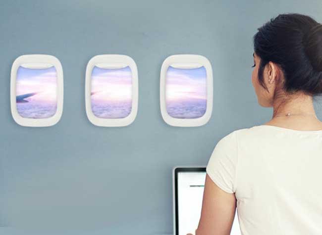 encadrement photo hublot airframe avion, Ces Hublots d'Avion vont Parfaitement Encadrer vos Photographies