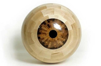 frank howarth sculpture oeil bois art