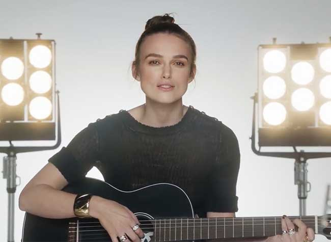 Chanel Coco Crush Keira Knightley Campagne