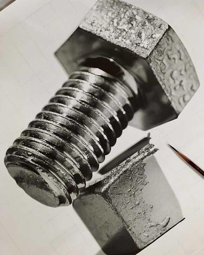 kohei ohmori kohei6620 portraits crayon realisme 4 - 250 Heures pour Dessiner des Portraits Hyper Réalistes au Crayon