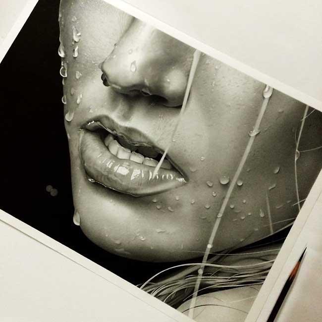 kohei ohmori kohei6620 portraits crayon realisme 7 - 250 Heures pour Dessiner des Portraits Hyper Réalistes au Crayon