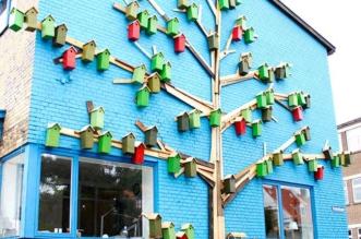 nichoirs oiseaux happy city birds thomas dambo