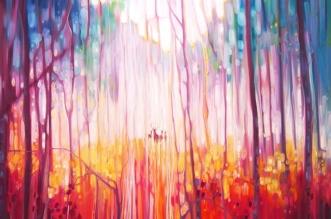 peintures paysages gill bustamante