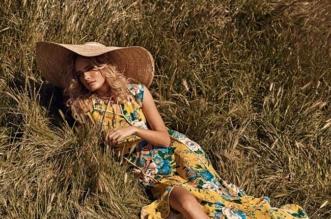 robe tendance mode fleurs romantique