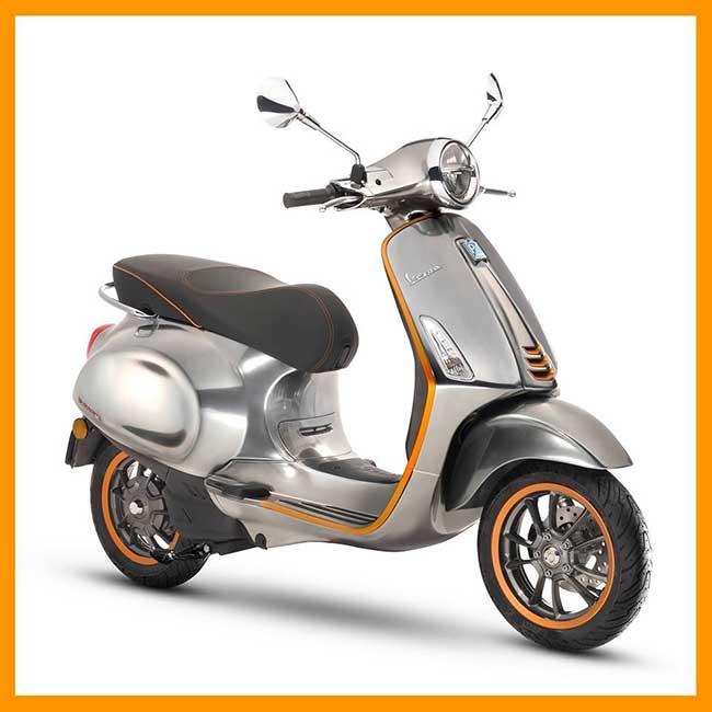 Scooter Electrique Vespa Elettrica Date Prix