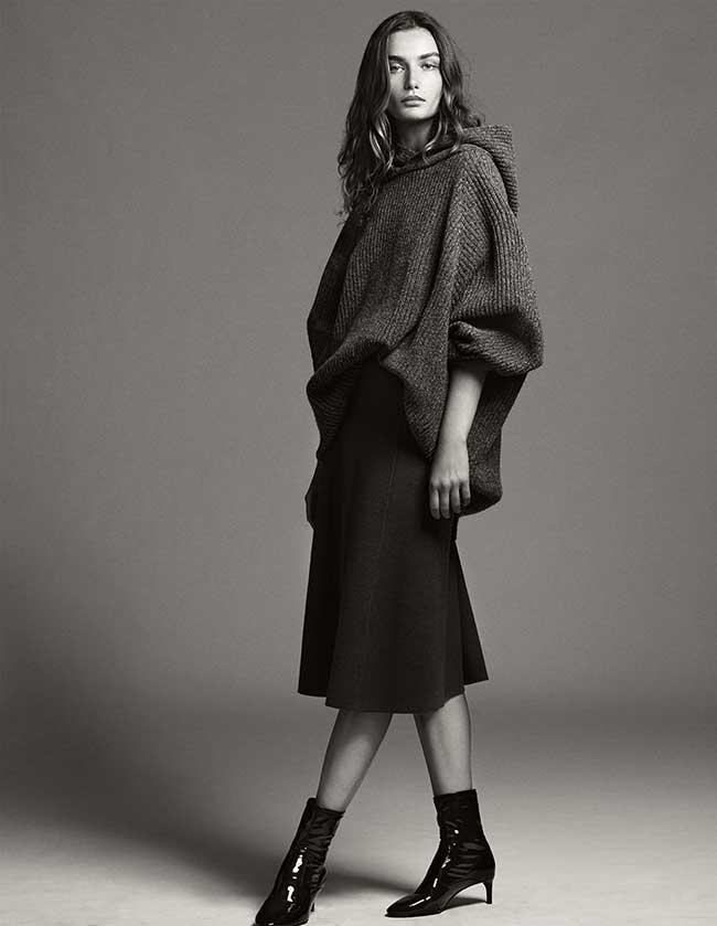 zara-femme tendances mode maille, Un Hiver Chic et Cozy tout en Maille pour Zara Femme