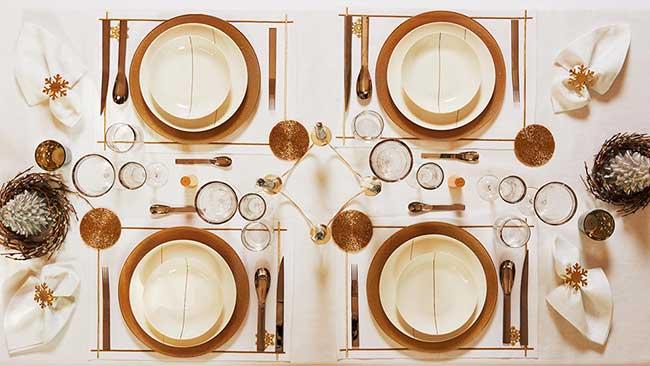 zara home couleurs noel maison sapin, Chez Zara Home l'Art de la Table commence à Noel