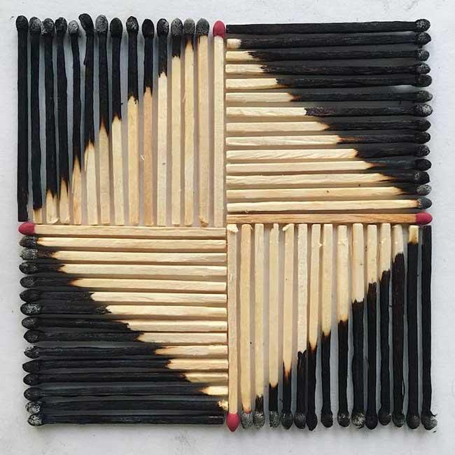 adam hillman arrangements graphiques objets 2 - Surprenantes Compositions Géométriques des Objets du Quotidien