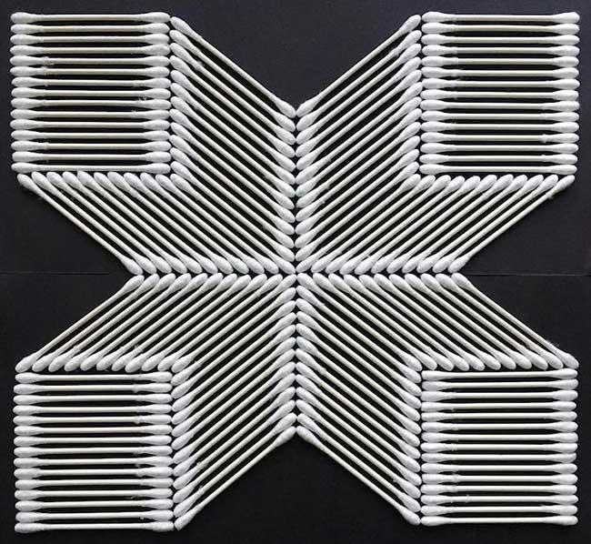 adam hillman arrangements graphiques objets 4 - Surprenantes Compositions Géométriques des Objets du Quotidien