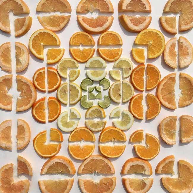 adam hillman arrangements graphiques objets 5 - Surprenantes Compositions Géométriques des Objets du Quotidien