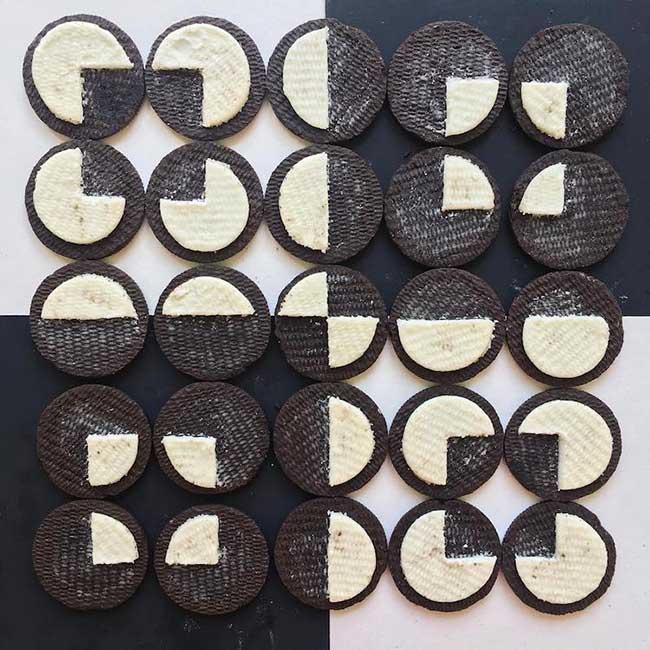 adam hillman arrangements graphiques objets 8 - Surprenantes Compositions Géométriques des Objets du Quotidien