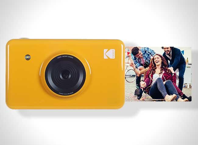Kodak Mini Shot, Kodak se Prend pour Polaroid avec son Mini Shot (video)
