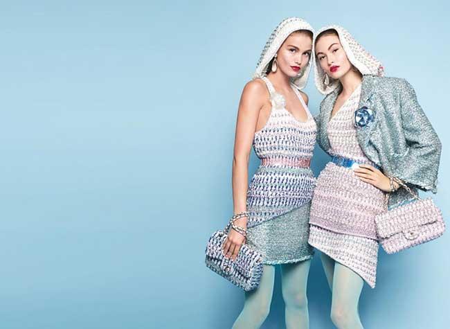 chanel campagne ete 2018 luna bijl grace elizabeth, Une Campagne Chanel 2018 Rafraichissante aux Nuances Estivales