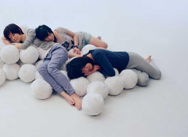 daydreamer canape nuage design cheng tsung feng, Avec Daydreamer Relaxez vous sur un Nuage de Douceur