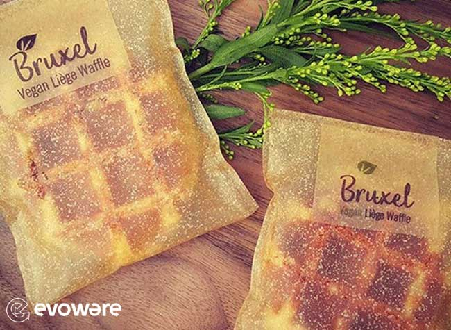 Evoware Emballage Ecologique Comestible Algues, Avec des Algues Evoware Invente l'Emballage 100% Comestible
