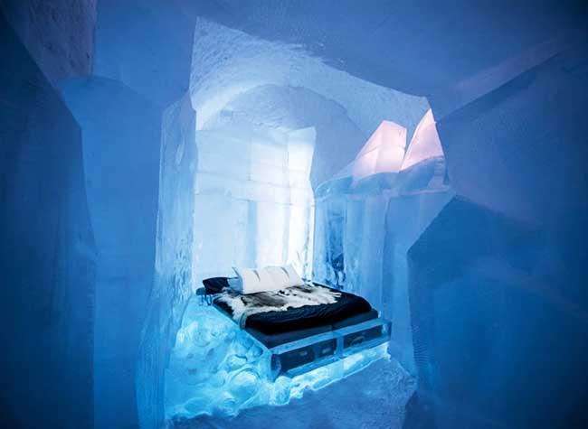 icehotel hotel glace 2017 suede, En Suede le IceHotel Invite à un Séjour Polaire sur le Thème du Merveilleux