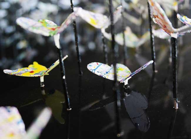 joel amit sculptures oiseaux papier art