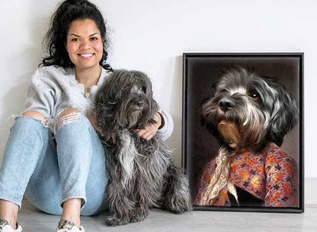 lanimorphe portrait photo animaux chien chat costume 10 - Offrez à votre Chien et Chat un Portrait en Costume d'Epoque