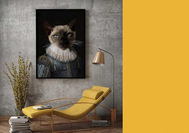 lanimorphe portrait photo animaux chien chat costume 7 - Offrez à votre Chien et Chat un Portrait en Costume d'Epoque