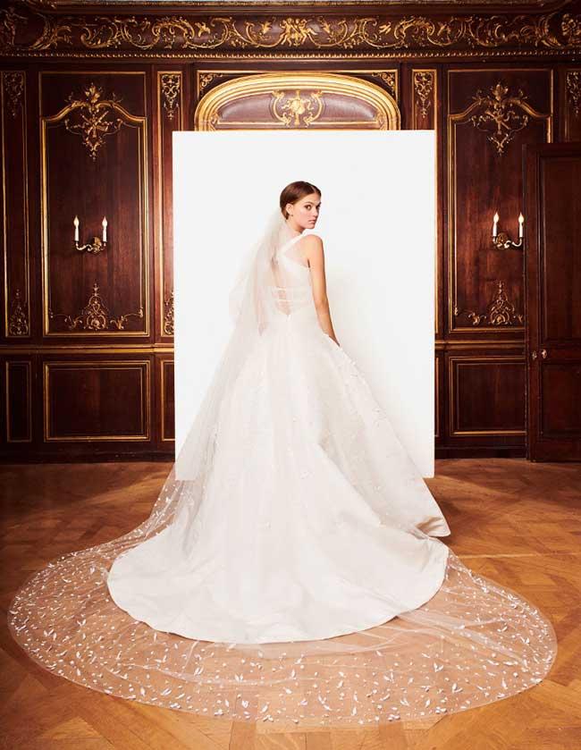 oscar de la renta robes mariée hiver 2018