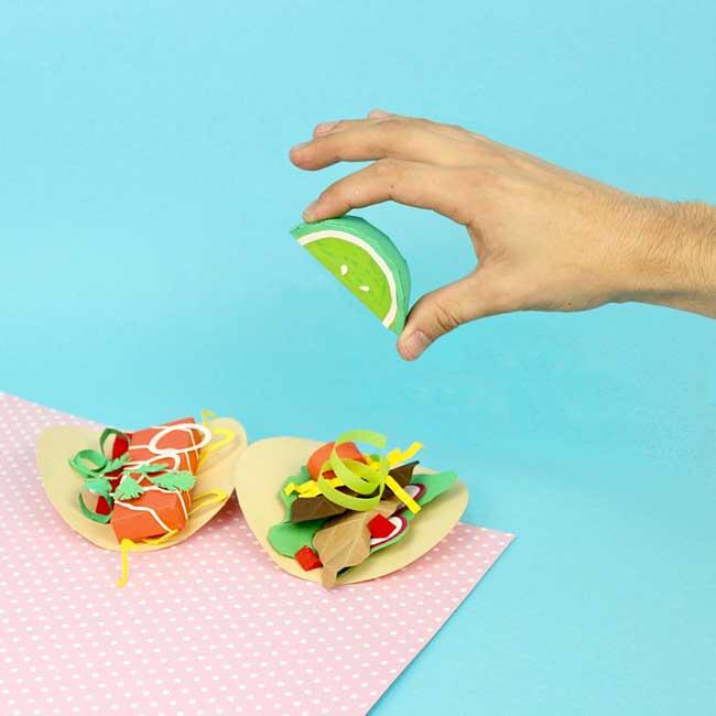samuel shumway art papier nourriture 1 - Cet Artiste Cuisine de Délicieuses Gourmandises en Papier