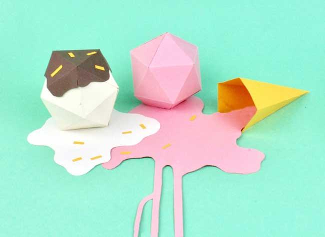 samuel shumway art papier nourriture 5 - Cet Artiste Cuisine de Délicieuses Gourmandises en Papier
