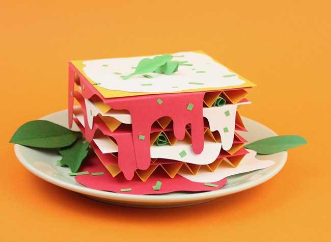 samuel shumway art papier nourriture 8 - Cet Artiste Cuisine de Délicieuses Gourmandises en Papier