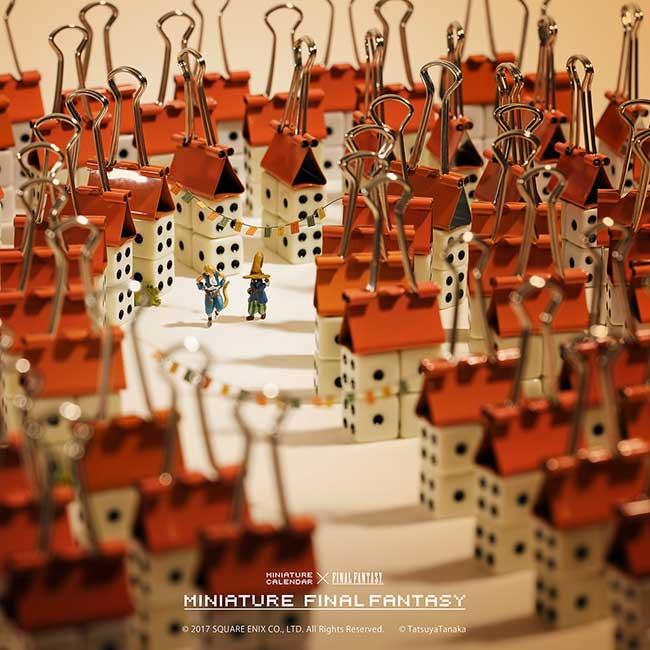 tatsuya tanaka calendrier scene miniatures