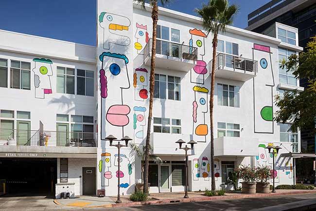 Thierry Noir Street Art Loas Angeles